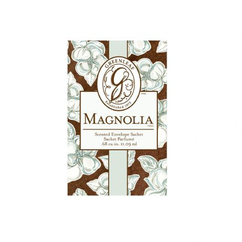 Greenleaf Small Scented Sachet - Magnolia